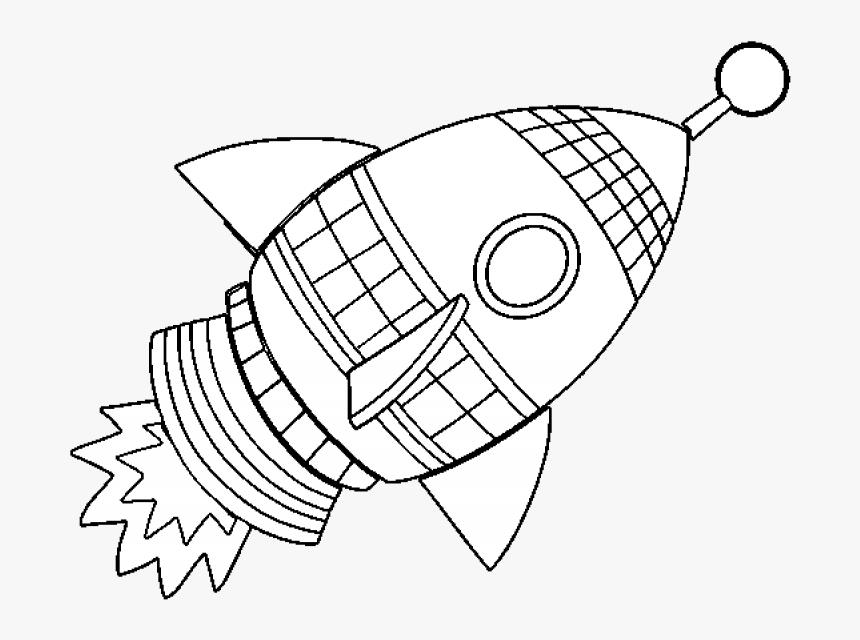 Uzay Mekigi Boyama Sayfasi Hd Png Download Transparent Png