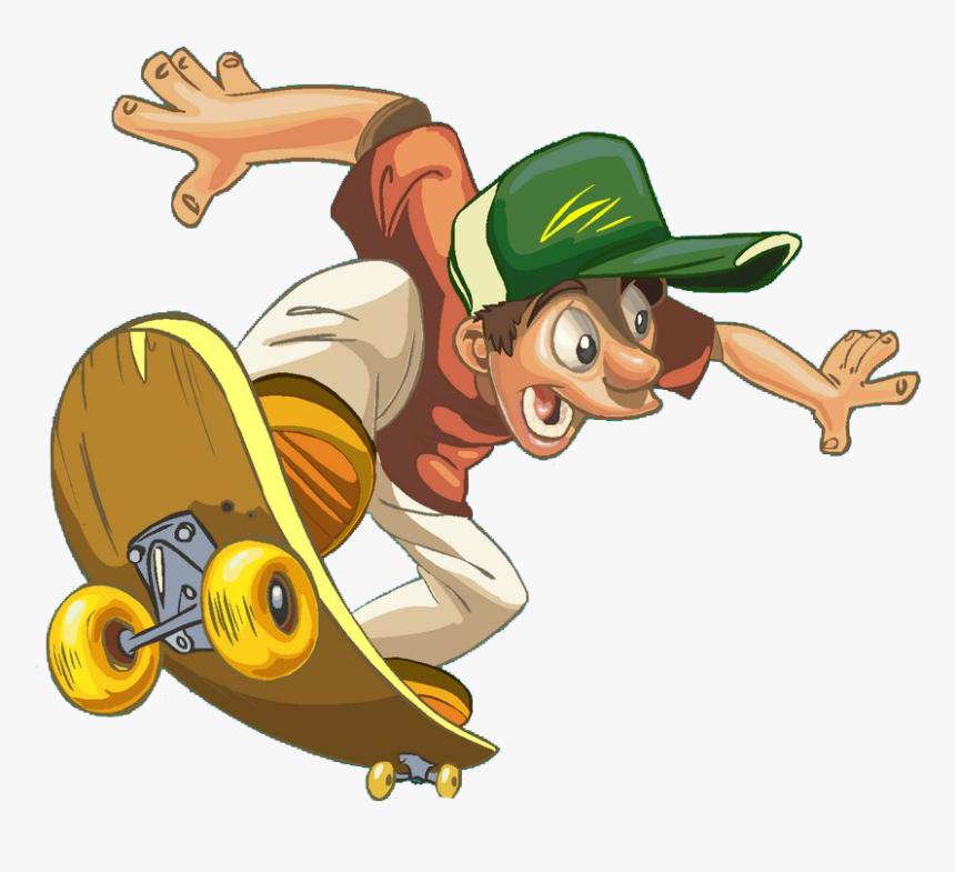 Funny Skateboard Cartoon Skateboarding Png Image High Funny Cartoon Images Free Download Transparent Png Transparent Png Image Pngitem