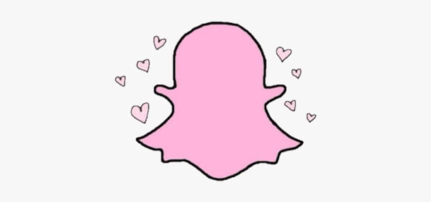 Snap Chat Snapchat Pink Pastel Heart Hearts Snapchat Tumblr Logo Hd Png Download Transparent Png Image Pngitem