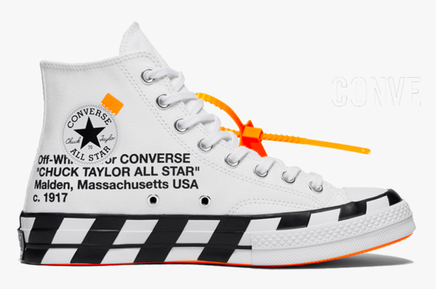 Transparent All White Png - Converse Off White Chuck Taylor ...