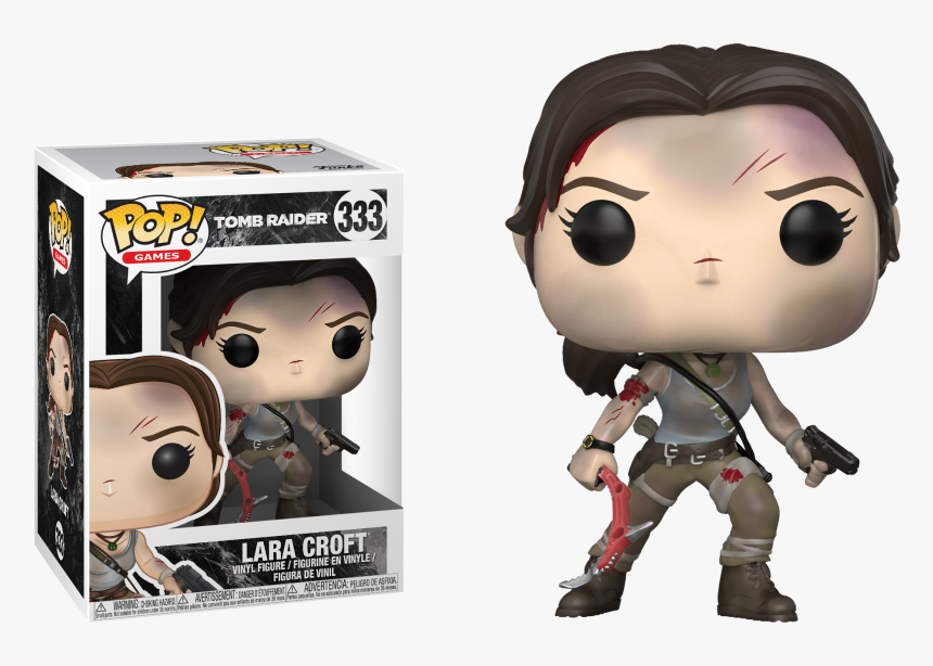 Shadow Of The Tomb Raider Funko Pop Hd Png Download