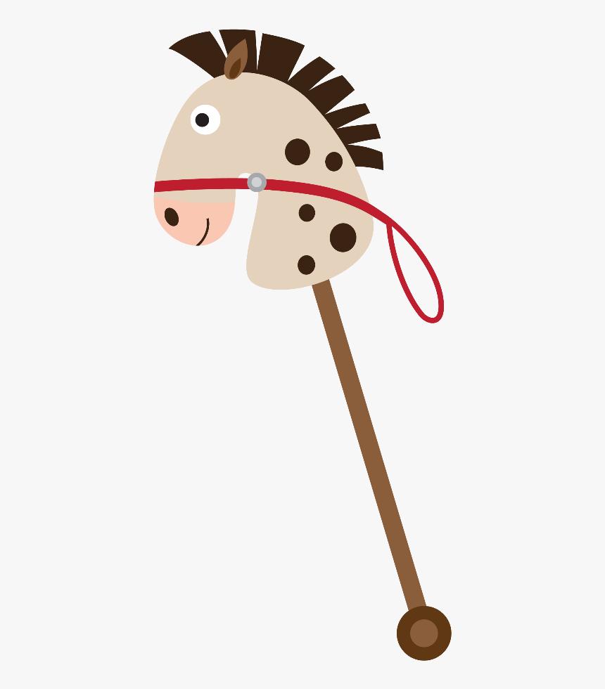 Stick Horses Baby Clip Art Cowgirl Party Western Desenhos De