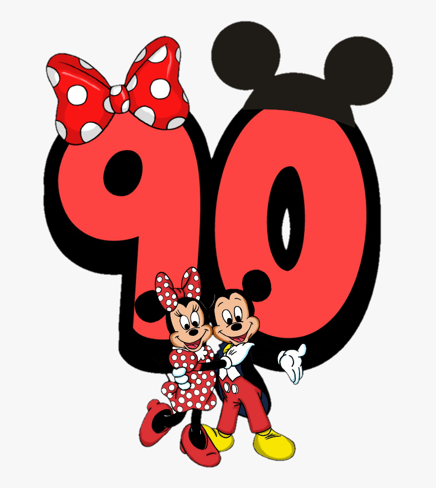 Transparent 90th Birthday Clipart Love Mickey Mouse And Minnie Mouse Hd Png Download Transparent Png Image Pngitem