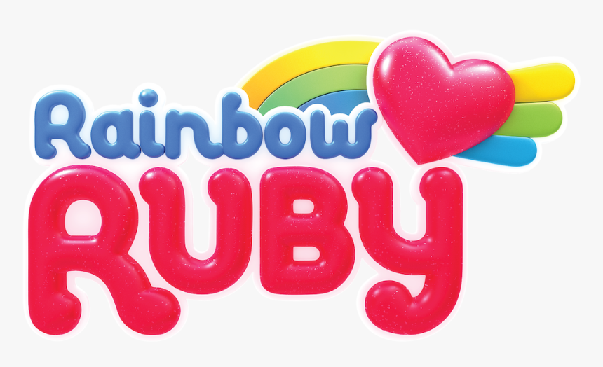 476 4760476 rainbow ruby heart hd png download
