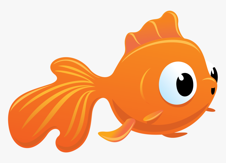 Goldfish Clipart Fish Cracker Cute Fish Vector Png Transparent Png Transparent Png Image Pngitem