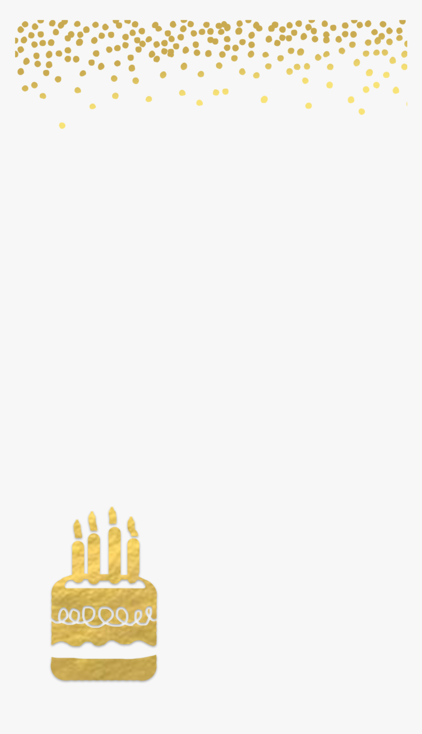 Awe Inspiring Golden Birthday Cake Png Png Download Transparent Background Personalised Birthday Cards Veneteletsinfo