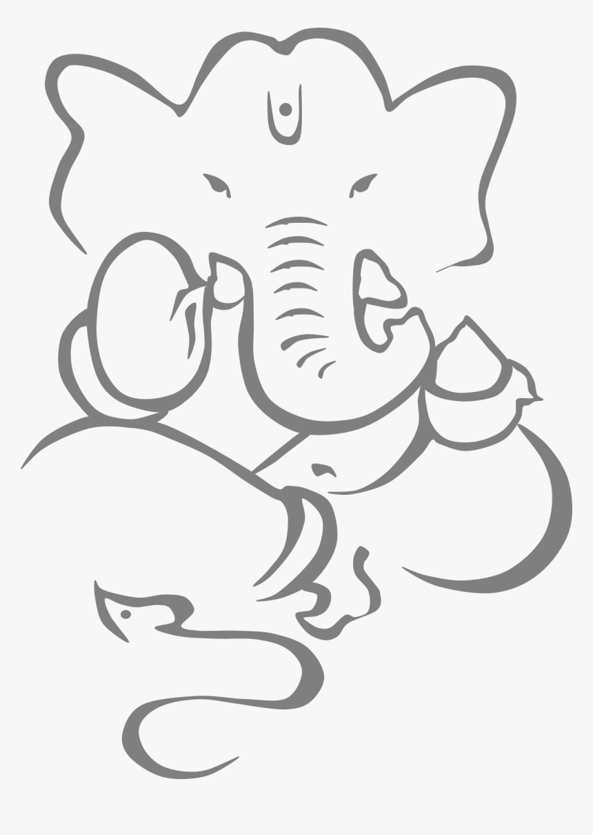 Freeclipart Ganesh Lord Ganesha Sketch Drawing Hd Png Download Transparent Png Image Pngitem