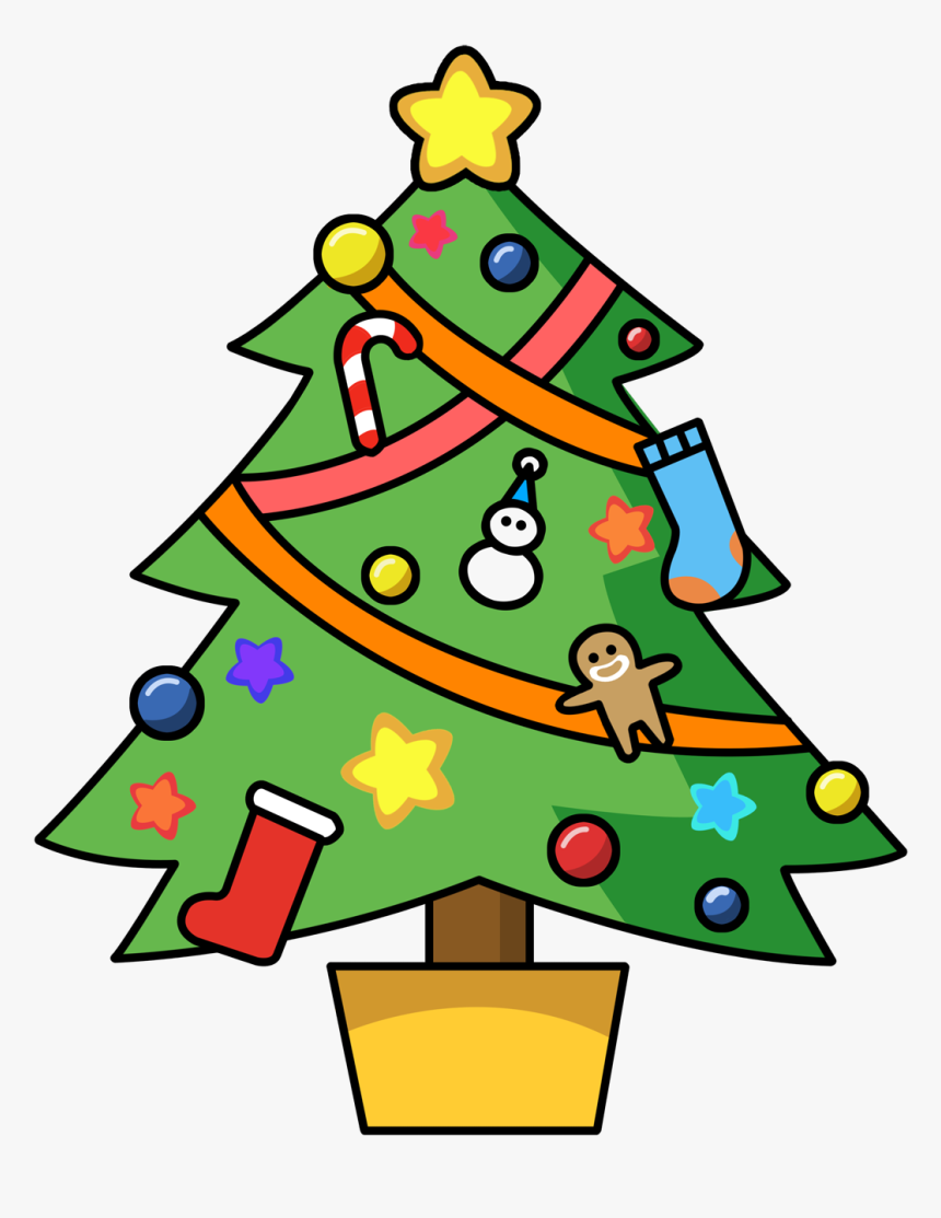 Christmas Clip Art Free Clipart Images St Christmas Tree Clipart Cute Hd Png Download Transparent Png Image Pngitem
