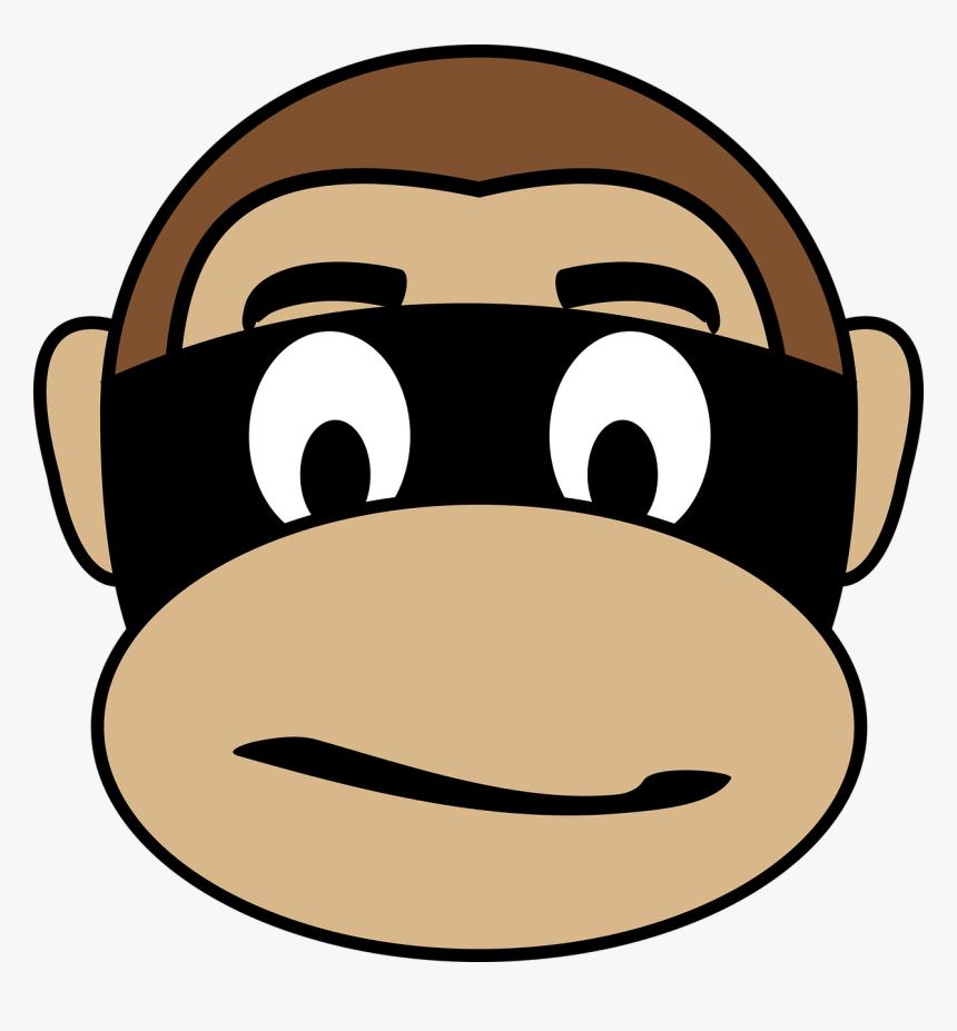 Criminal Clip Arts Gambar Animasi Monyet Lucu HD