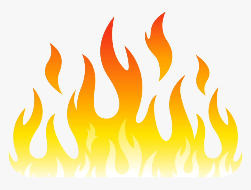 Fire Flame Clip Art - Drawing Fire Flames, HD Png Download ...