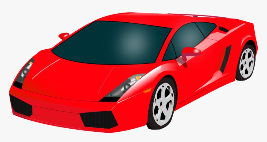 Vector Supercar Lamborghini Gallardo Red Sports Car Clipart Hd Png Download Transparent Png Image Pngitem