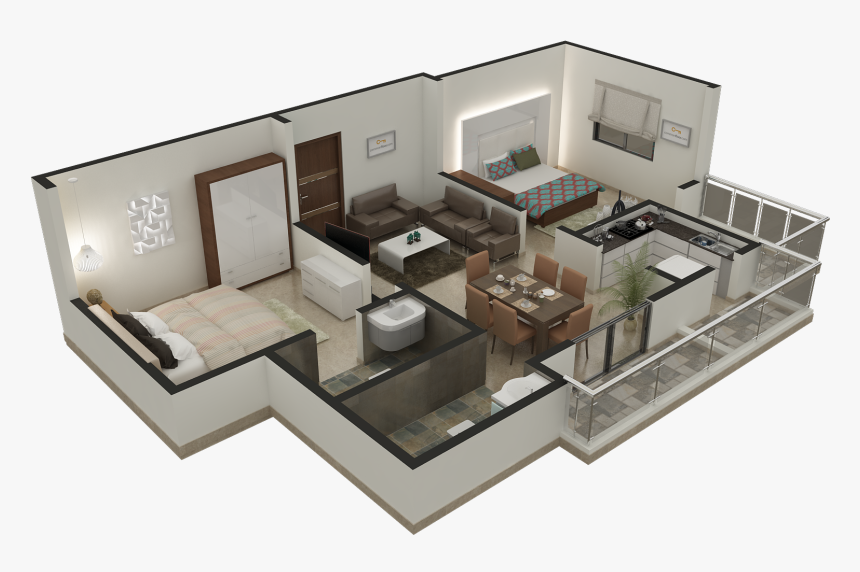 3d Floor Plan Design Services Simple Home Design Isometric View Hd Png Download Transparent Png Image Pngitem
