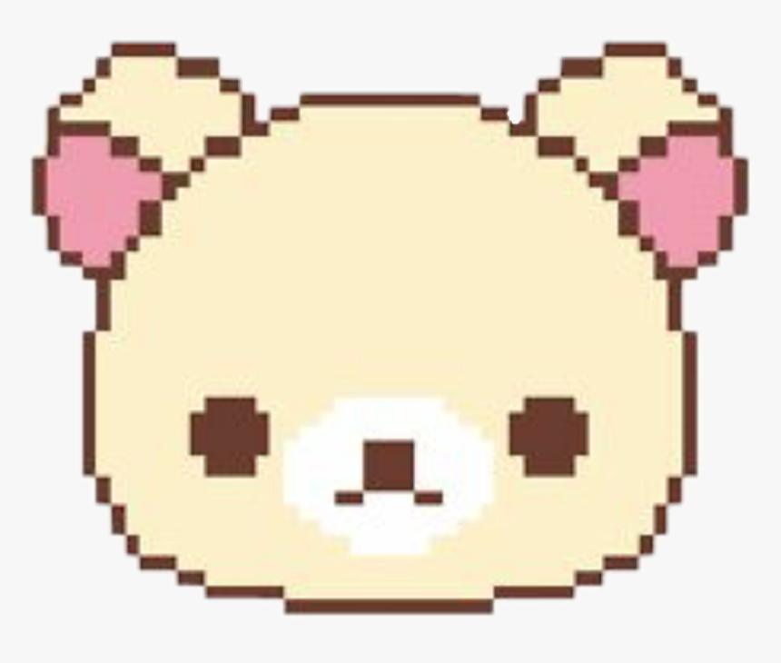 Pixel Art Kawaii Animes Png Download Cute Pixel Art Bear