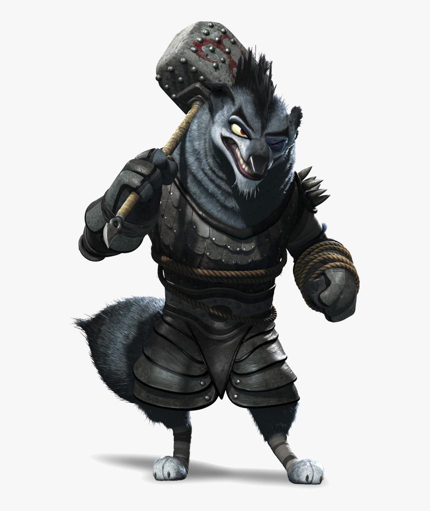 Villains Wiki Kung Fu Panda 2 Wolf Boss Hd Png Download