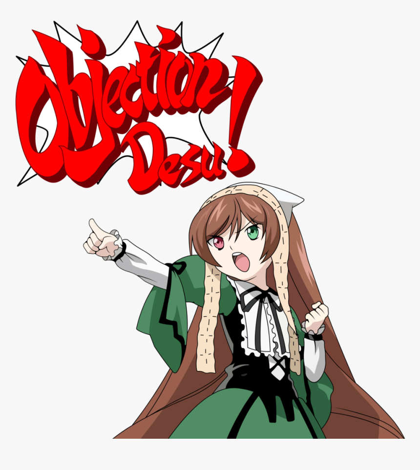 Objection Phoenix Wright Meme Hd Png Download Transparent Png