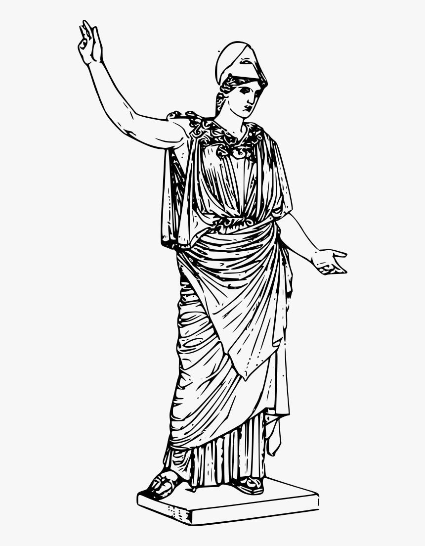 Athena Greek Goddess Of Wisdom Transparent Png Png