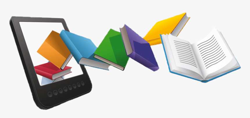 E-book Clipart - E Book Clipart Png, Transparent Png , Transparent ...