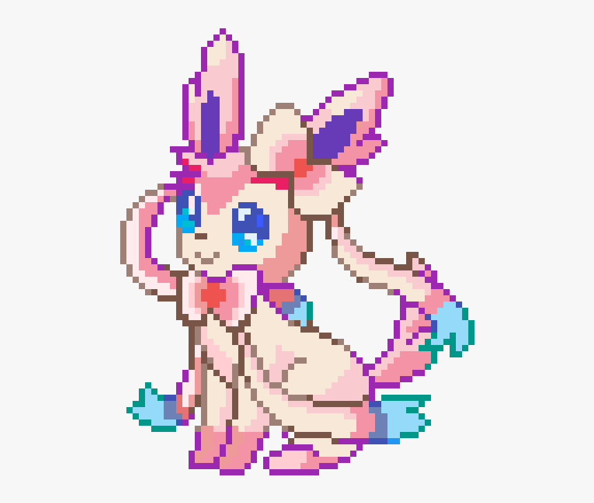 Largest Collect About Sylveon Pixel Art Grid