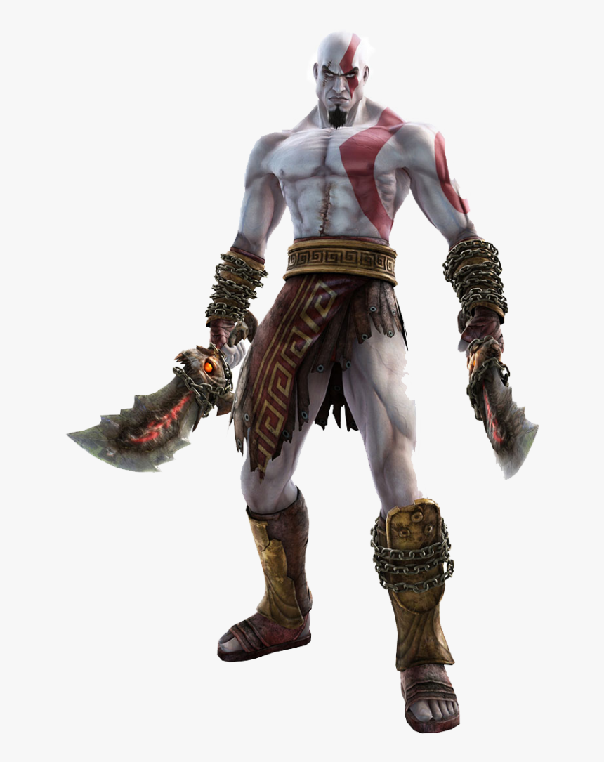 Kratos God Of War 2 Hd Png Download Png Download Kratos