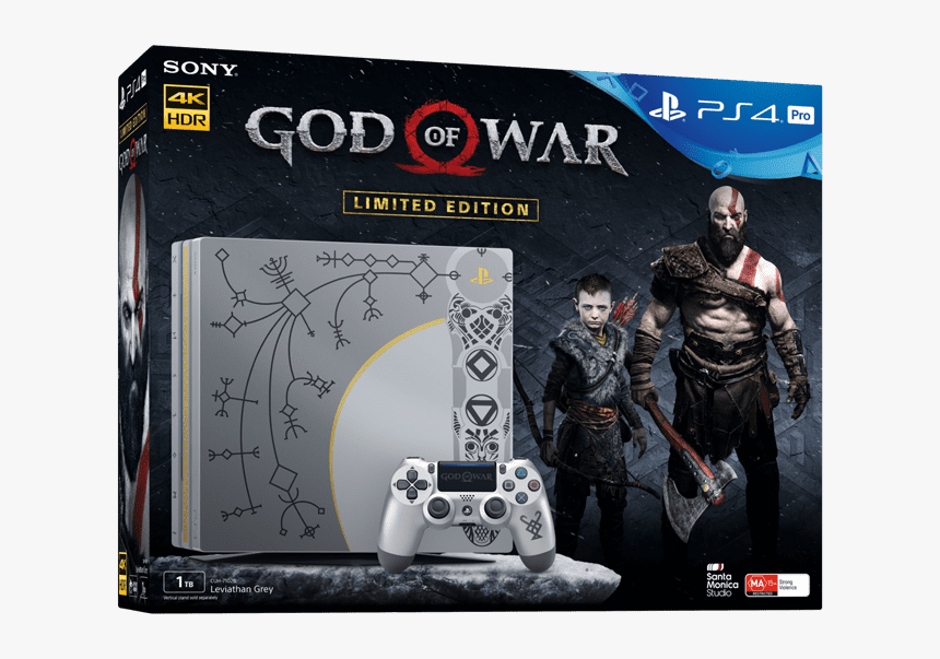 Playstation4 Pro 1tb God Of War Limited Edition Console