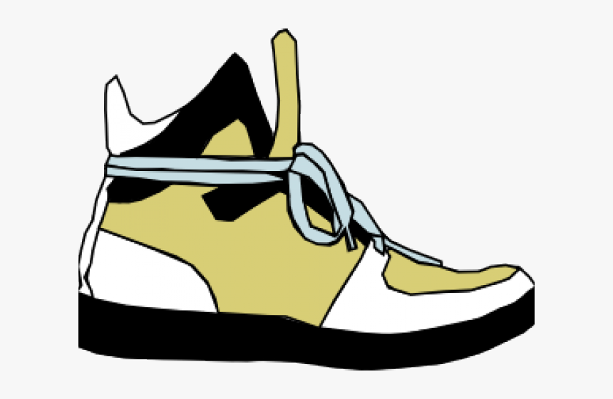 Gym Shoes Clipart Yellow Foot With Shoe Cartoon Hd Png Download Transparent Png Image Pngitem