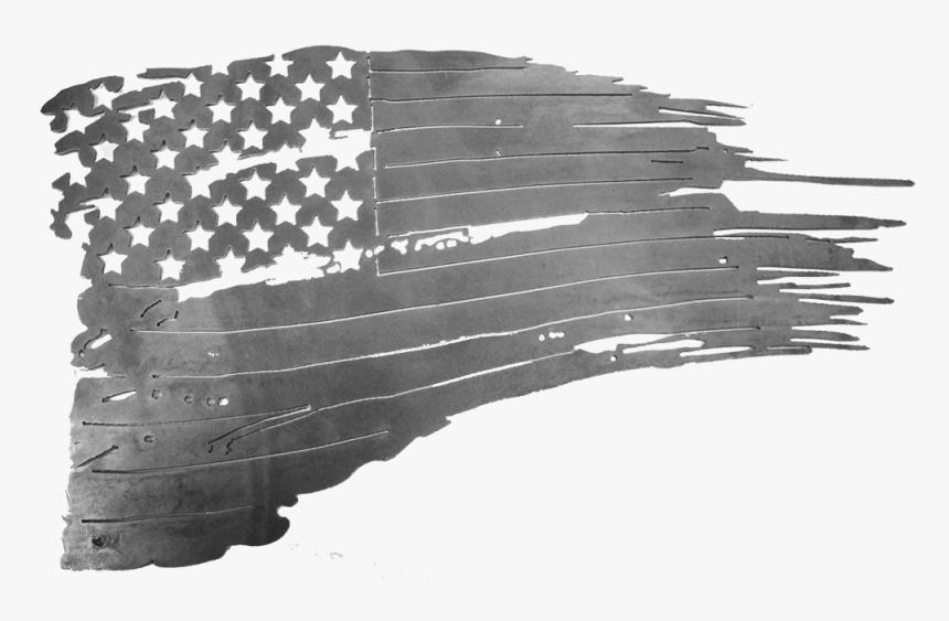 Raw American Tattered Flag American Flag Dxf Files Hd Png Download Transparent Png Image Pngitem