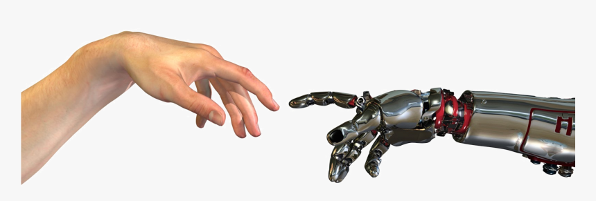 Human And Robot Hands Hd Png Download Transparent Png Image Pngitem Download transparent robot hand png for free on pngkey.com. human and robot hands hd png download