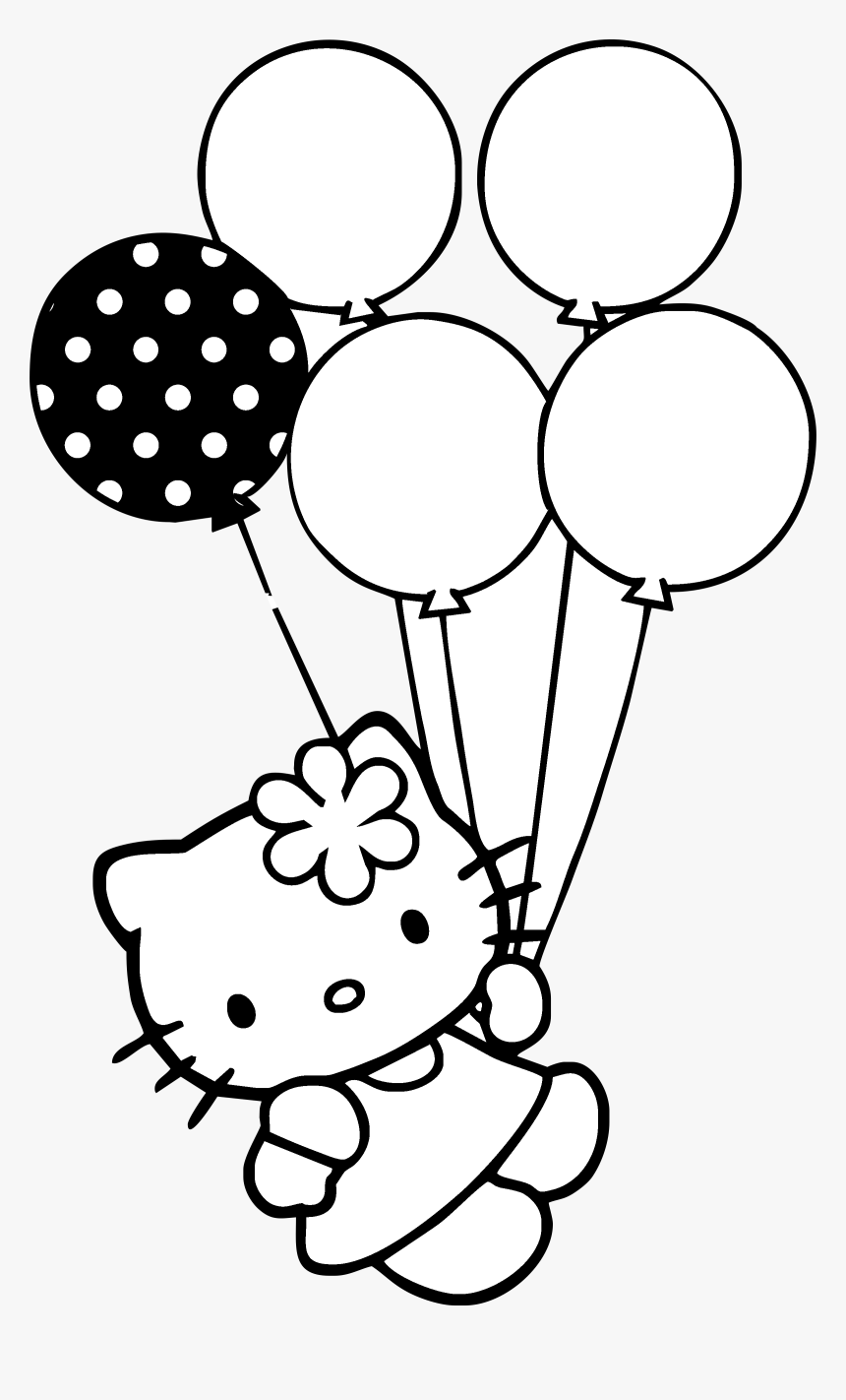 thumb image black and white hello kitty hd png download transparent png image pngitem black and white hello kitty hd png