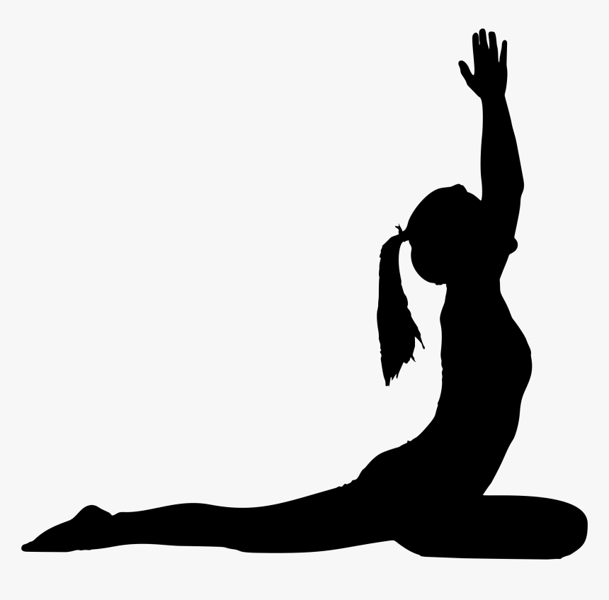 Yoga Pose Silhouette Png Transparent Png Transparent Png Image Pngitem