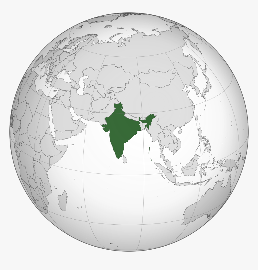 India Globe Png - South Asia, Transparent Png , Transparent ... on map of world globe, map of north america globe, map of new zealand globe, map of middle east globe,