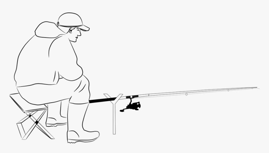 Fishing In Pond Drawing Hd Png Download Transparent Png Image Pngitem