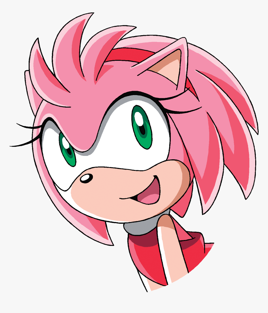 Amy Off Of Sonic sonic x happy - sonic x amy rose happy, hd png download