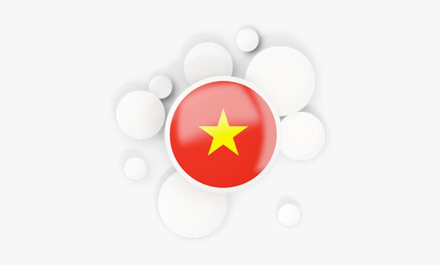 Round Flag With Circles Vietnam Flag Circle Png Transparent Png Transparent Png Image Pngitem