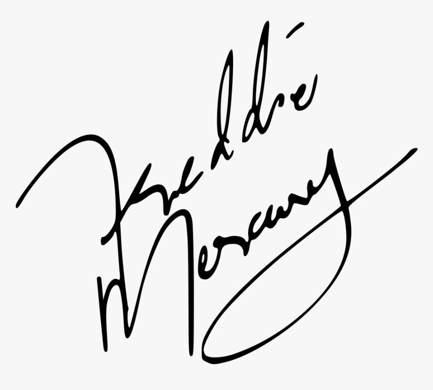 Freddie Mercury Signature Hd Png Download Transparent Png Image Pngitem