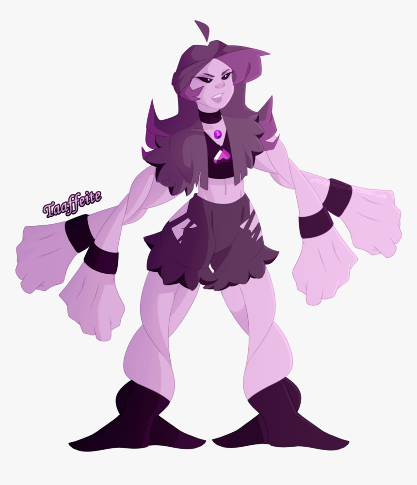 Amethyst And Spinel Fusion Taaffeite Steven Universe Fanart Fusions Hd Png Download Transparent Png Image Pngitem