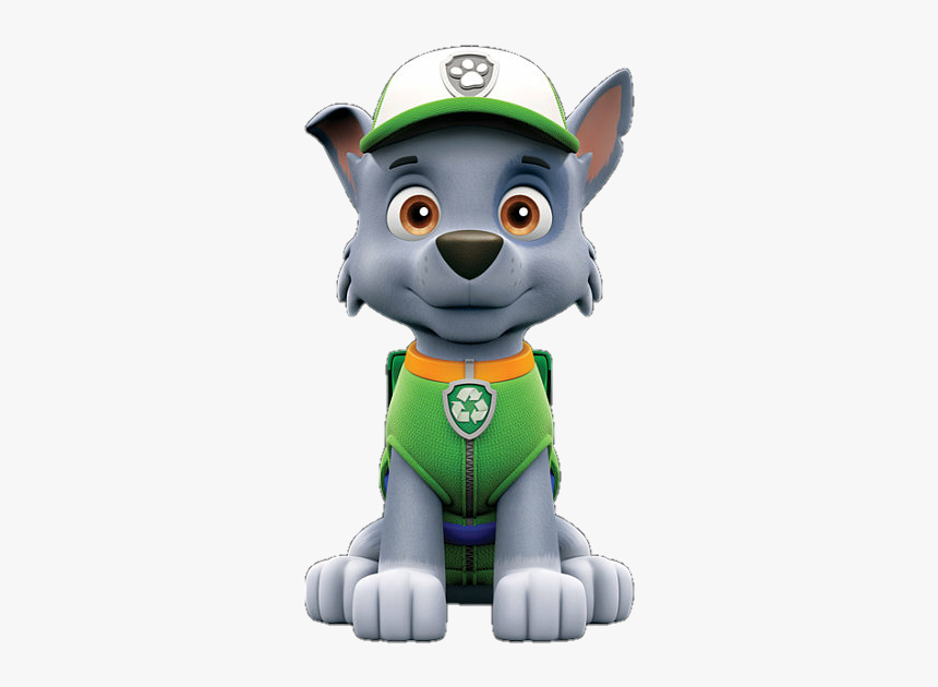 rocky paw patrol clipart hd png download  transparent