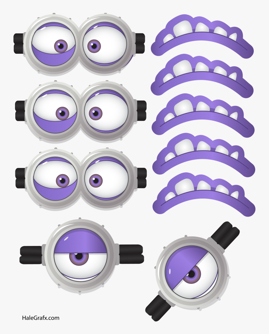 This is a picture of Free Printable Minion Eyes in clipart minion
