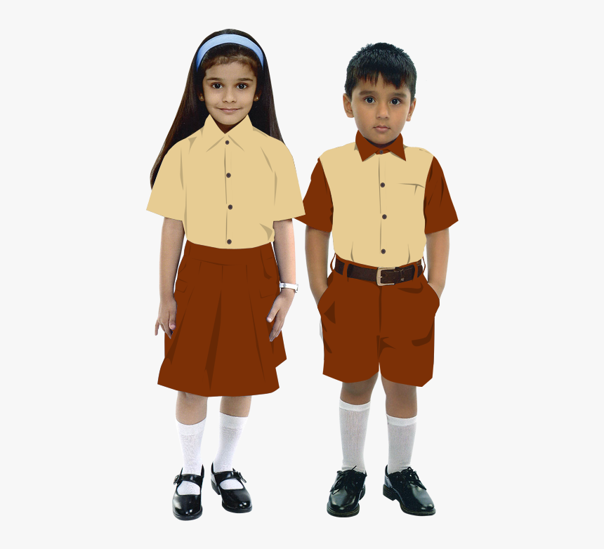 School boy and girl clip art watercolor illustrations and school related elements in png,