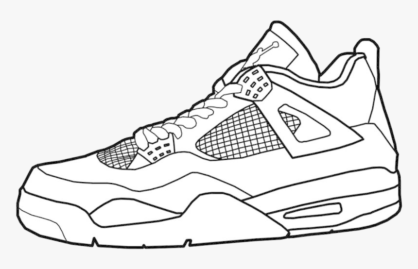 Jordan Air Jordans Coloring Pages Unique Collection ...