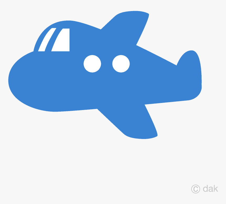 Airplane Cute Blue Plane Clipart Free Picture Transparent