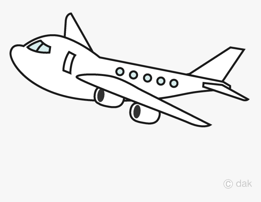 airplane png black and white