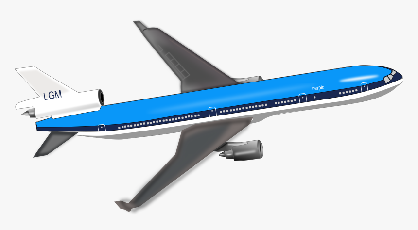 Transparent Background Airplane Cartoon Hd Png Download