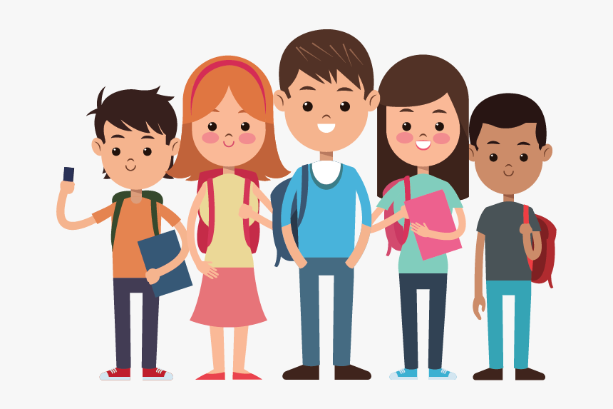 Clipart of students