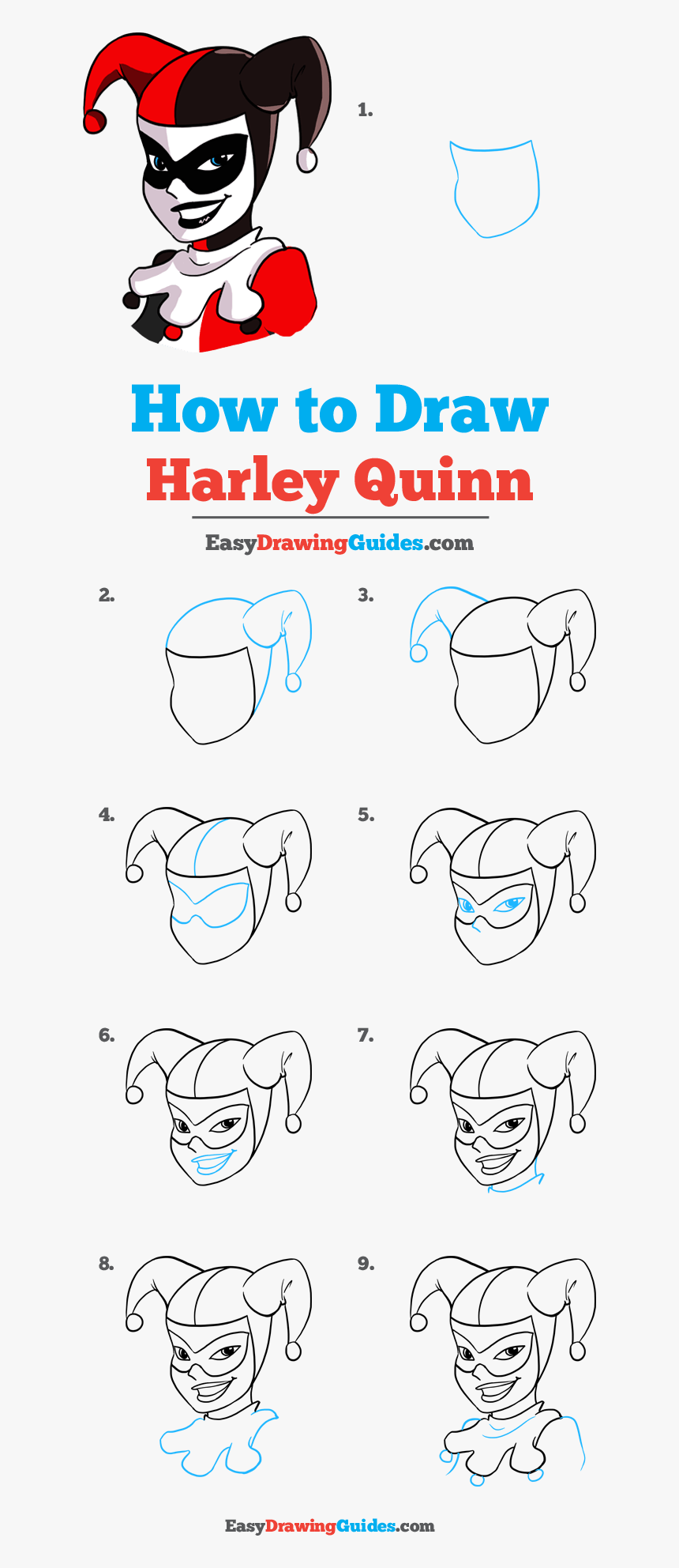 How To Draw Harley Quinn Draw Angry Birds Step By Step Hd Png Download Transparent Png Image Pngitem