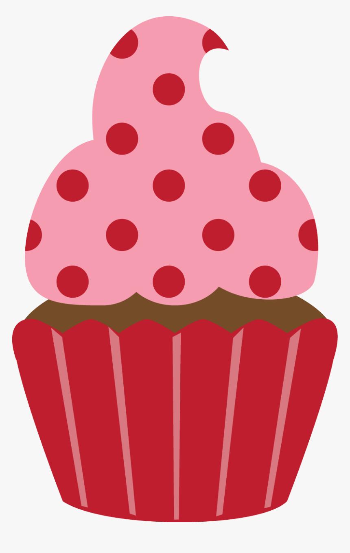 Birthday Cupcake Clip Art Apliques Cha De Panela Hd Png