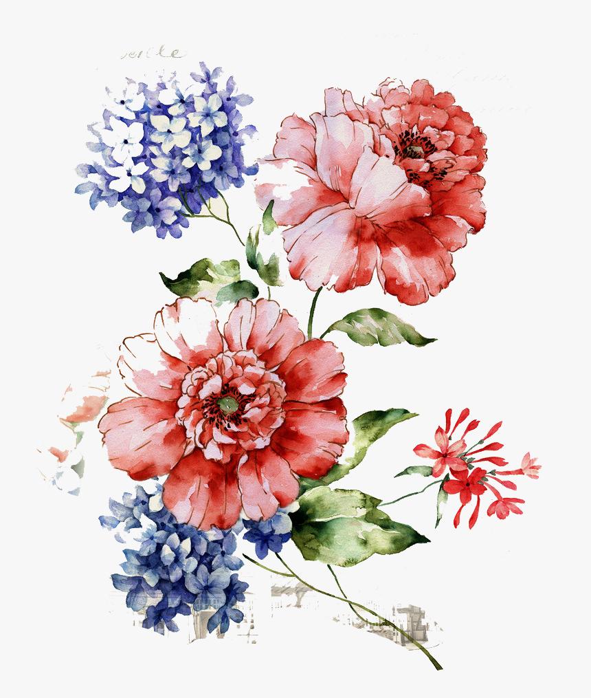 Flower Floral Design Wallpaper Vintage Floral Pattern Png