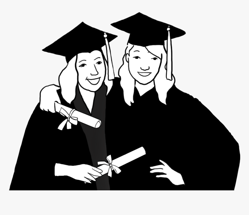 graduate silhouette clipart - 932×673