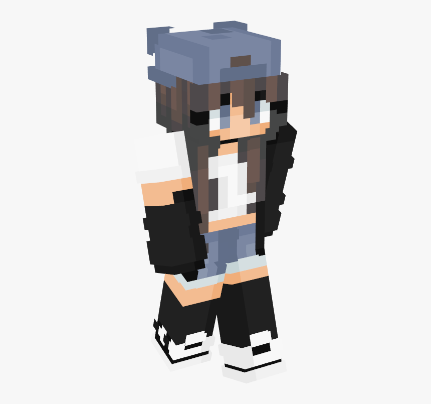 Cute Neko Minecraft Skin Hd Png Download Transparent Png Image Pngitem