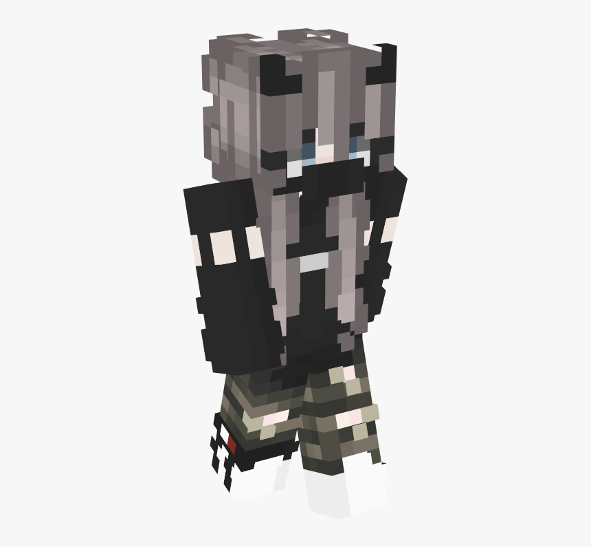 Minecraft Aesthetic Girl Skin Hd Png Download Transparent Png