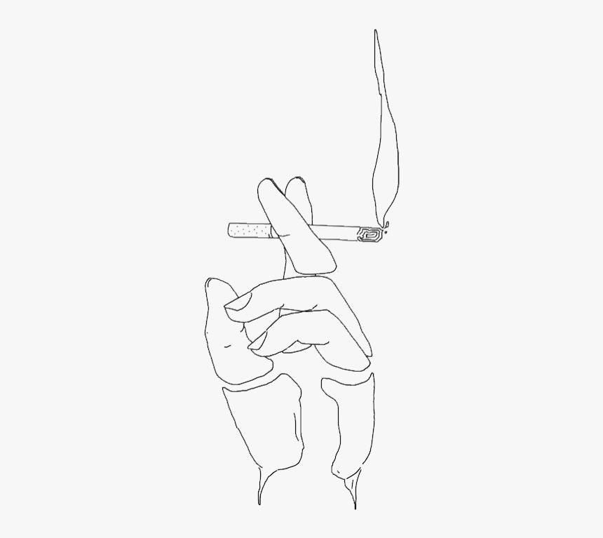 Gif Drawing Cigarette Anime Cigarette Aesthetic Hd Png Download Transparent Png Image Pngitem